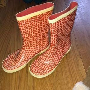 0a2e5ad7017 Women s Coach Red Rain Boot on Poshmark